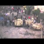 Egyptian Army Intervenes to Protect Protesters from Riot Police