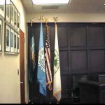 U.N. Flag Stands Taller than the American Flag in Local Village Court