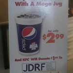 Purchase A Giant Pepsi To Raise Money For Diabetes Research