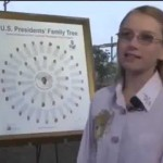 12 yr Girl Discovers ALL U.S. Presidents Except One Related to One British King