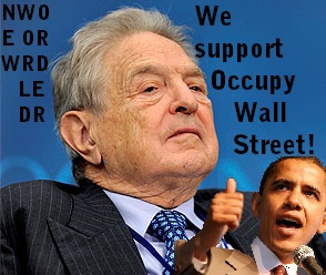 George Soros, Barack Obama, Occupy Wall St new world order