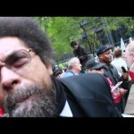 Cornel West @ #OWS Disappointed in Obama and End The Fed