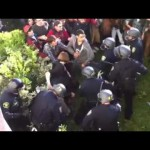 Tough Guy Cops Beat Protestors At Occupy Berkeley Protest