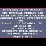 Parody: White House shuts down Jesse Ventura using the Emergency Alert System