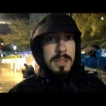Veteran at #occupy wall street on Veterans Day 11/11/11
