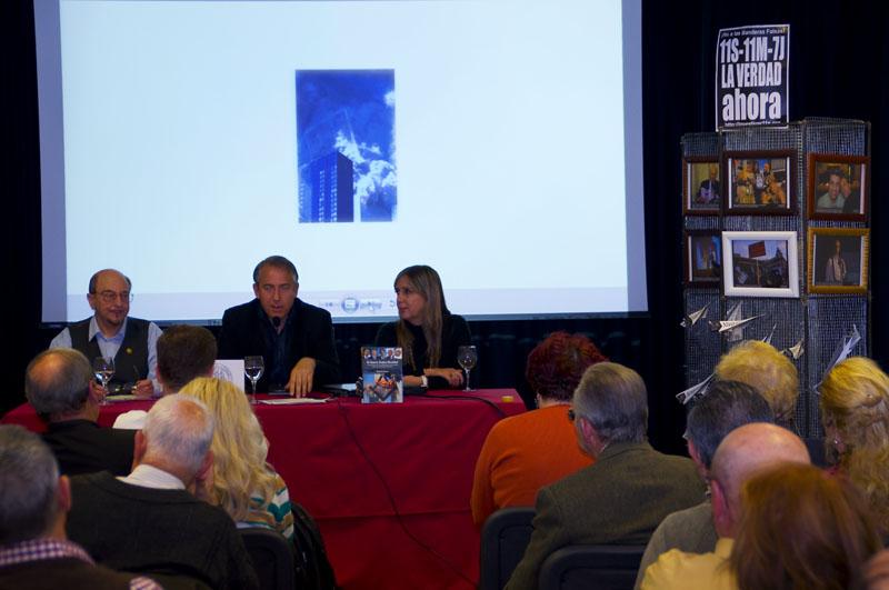 Arquitectos e Ingenieros por la Verdad sobre el 11S con exposicion de fotografia artistica en el Ateneo de Madrid