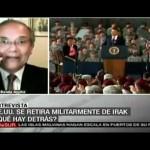 ¿Qué hay detrás del retiro militar de EE.UU. de Irak?
