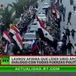 El gobierno sirio está dispuesto a dialogar con la oposición, según la diplomacia rusa
