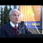 Massive Ron Paul rally in Berkeley