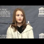 12 year old Victoria Grant explains how banks commit fraud