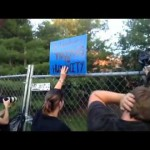 Disrupting Bilderberg Party on Final Night (06-02-2012)