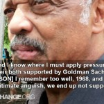 Jesse Jackson Confronted on Endorsing Obama