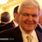 Newt Gingrich Confronted 5 Times about Bohemian Grove at CPAC 2012