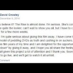 My Conversation with a Friend of David Crowley