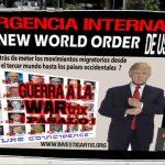 21D2017: LA DECLARACIÓN DE EMERGENCIA NACIONAL DE TRUMP, DEJA A LOS MEDIOS ESTADOUNIDENSES EN EL SILENCIO Y A LAS ÉLITES GLOBALES EN EL TERROR